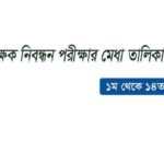 #Breaking_Newsঃ 1 TO 14th NTRCA Merit List Result 2018 Publish