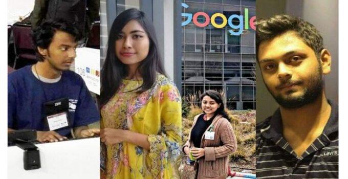 গুগলে ডাক পেয়েছেন ঢাকা বিশ্ববিদ্যালয়ের একই বিভাগের ৪ শিক্ষার্থী