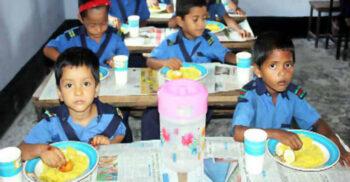 প্রাইমারি শিক্ষার্থীদের নতুনভাবে 'দুধ, ডিম ও বিস্কুটসহ বিভিন্ন খাবার' চালুর সিদ্ধান্ত